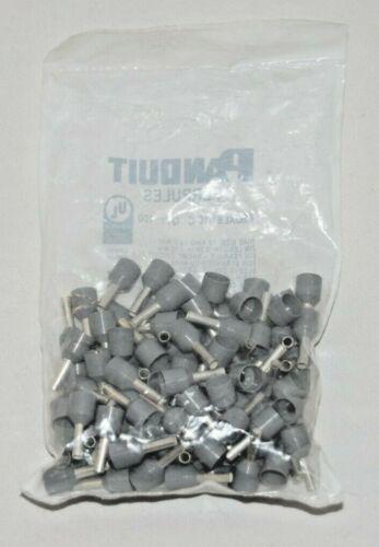 PANDUIT Ferrules FSDXL81-10-C 12 AWG Gray