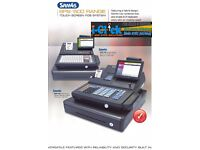 Sam4s Hybrid 7' EPOS Touchscreen ER-530 FT ECR Cash Register 500 Till Printer 520