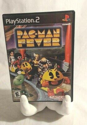 PACMAN Pac Man Fever PS2 Playstation 2 Video Game CIB 2002  CD tested VG+