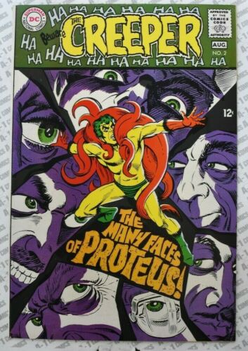 Beware the Creeper #2 (1968) VF- (7.5) ~ Steve Ditko Cover ~ DC Comics