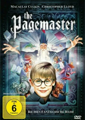 The Pagemaster Dvd