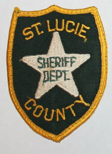 Old ST. LUCIE COUNTY SHERIFF