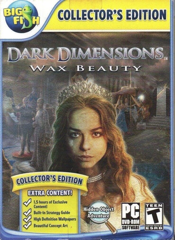 Computer Games - Dark Dimensions Wax Beauty PC Games Windows 10 8 7 XP Computer hidden object