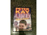 Peter kay live at the Manchester arena