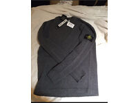 Stone island grey jumper Genuine brand new mens large RRP - £165