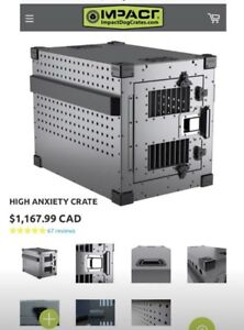 High Anxiety Crate for Medium to Large Dogs