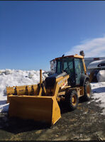 Snow clearing in kenmount terrace area