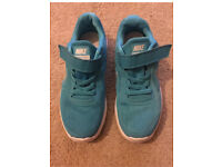 Girls Nike trainers size 12 - as new