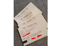 Tickets to The London Eye