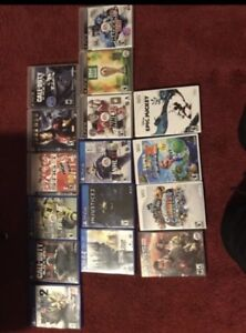 PS4 ,3 and Wii,of games