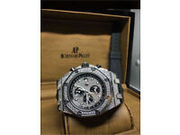 Ap Royal Oak Offshore Limited Edition Iced Out Watch