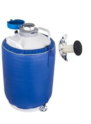 30l Liquid Nitrogen Tank Cryogenic Container W Bag Dewar Tank Semen