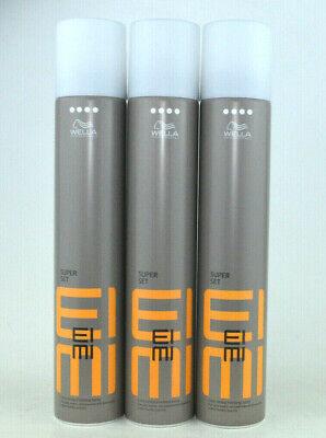 Finishing Spray Haarspray (Wella Eimi Super Set 3x 500ml starkes Finishing-Spray Haarspray)