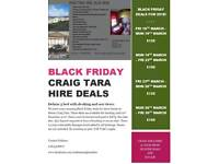 Black Friday Craig Tara Deals