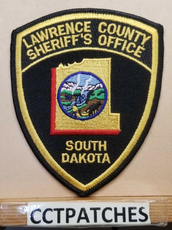 LAWRENCE COUNTY, SOUTH DAKOTA SHERIFF (POLICE) SHOULDER PATCH SD