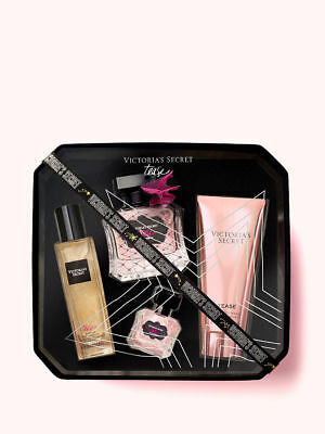 HOLIDAY BEST VICTORIA SECRET LUXURY TEASE FRAGRANCE GIFT SET - $85 RETAIL (Best Price Perfume Gift Sets)