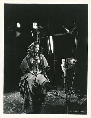 Maureen Osullivan Original Candid Portrait Costume Studio Set Vintage 35 Photo
