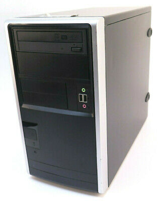 Desktop PC - Intel Core 2 Quad CPU Q8400 @ 2.66GHz - 4x 2GB DDR2 PC2-6400U