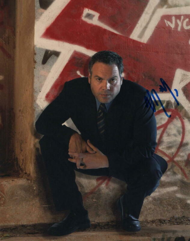 VINCENT D'ONOFRIO SIGNED AUTOGRAPH 8X10 PHOTO - LAW & ORDER: CRIMINAL INTENT