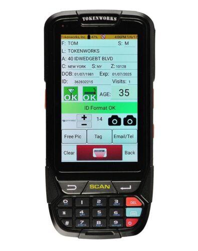 IDVisor Smart Handheld ID Scanner + All Software Upgrades & Charging Cradle