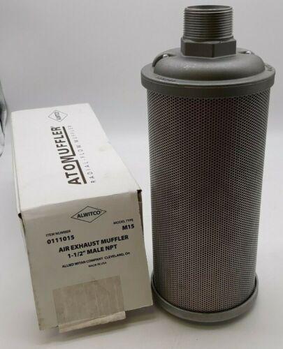 Alwitco M15 0111015 Air Exhaust Muffler
