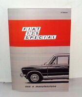 Uso E Manutenzione Fiat 125 Special 5 Marce - 1600 Cc -  - ebay.it