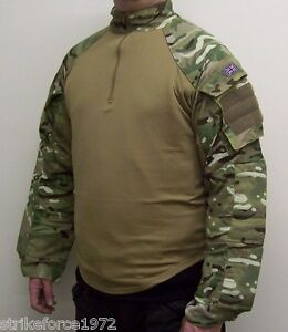 NEW - Genuine UK Issue Multicam MTP Under Body Armour UBACS Shirt - Size LARGE