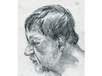 Life Drawing Saturdays 11 am -1 pm, Drop-in, all tools and materials provided, All levels welcome.