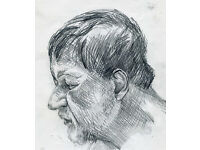 Life Drawing Saturday 11-1pm, drop-in class, all materials provided