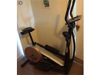 York cross trainer / exercise bike