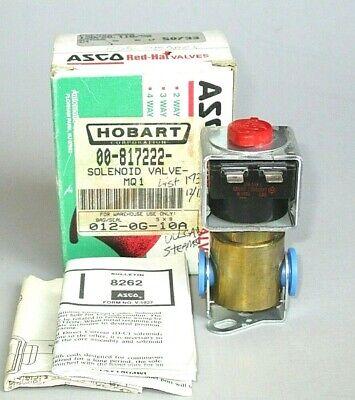 Vulcan Hart 00-817222 Steamer Solenoid Valve 12060 Hobart