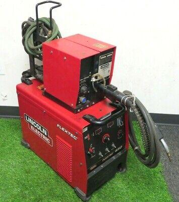 Lincoln Flextec 450 Multi-process Welder With Lincoln Ln-7