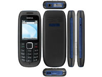 Nokia 1616-2 - Black & Blue (on T-mobile network) Mobile Phone