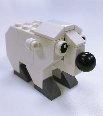 Constructibles Polar Bear Lego  Parts   Instructions Kit   40208