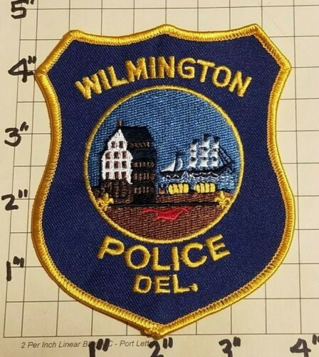 Wilmington (DE) Police Department Patch w/ Presentation Card      ***NEW***