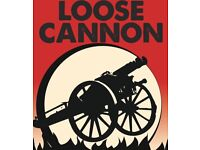 Loose Cannon urgently require a keyboard player