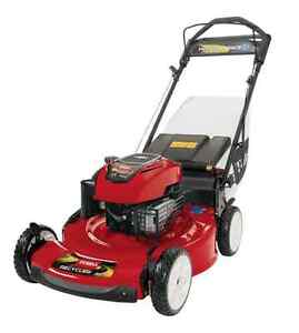 Toro personal pace variable speed self propelled gas lawn mower walk