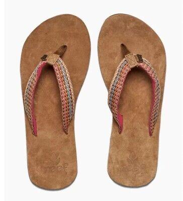 REEF // Gypsylove Pink // Womens Pink Flip Flops Sandals // REDUCED Was £30.00