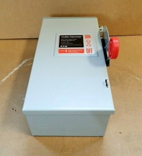 CUTLER HAMMER DH361URK 3P 600V 30 AMP NON FUSED 3R DISCONNECT SWITCH *NEW*