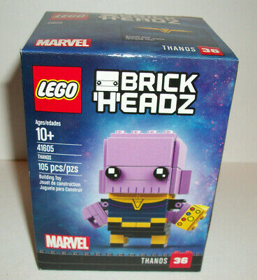 Lego Brickheadz Marvel Infinity War THANOS 41605 New Gift Toy Sealed