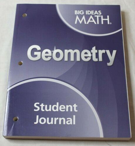 Big Ideas Math Geometry Student Journal Paperback New