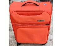 LOVELY DESIGNER SUITCASE BY 'MARCH' ON WHEELS - £25 ONO QUICK SALE