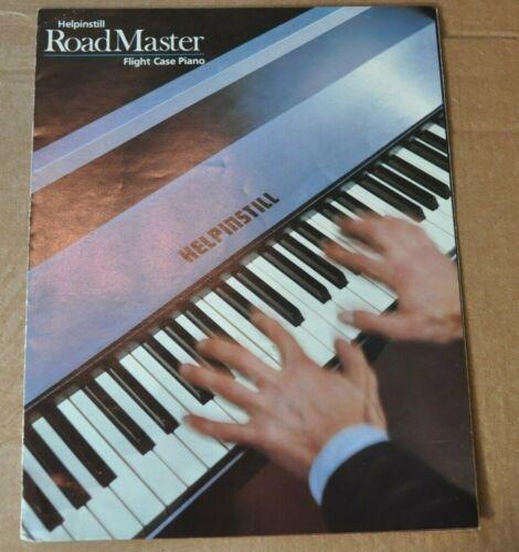 Helpinstill Road Master flight case piano vintage catalog bookletbrochure.1970