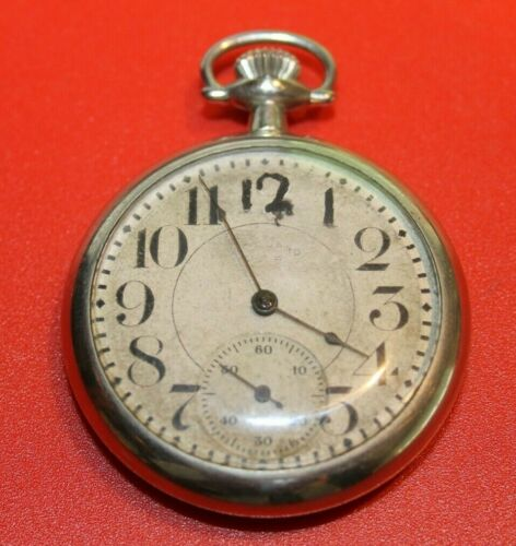 New York Standard 16s  7j Pocket Watch serial $116451 - WORKING