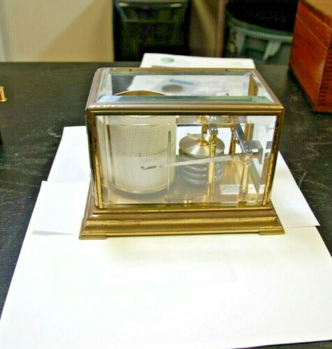 Miniature Barograph by Richard Frères Paris No 51742 RF PARIS - BREVETE - RARE !