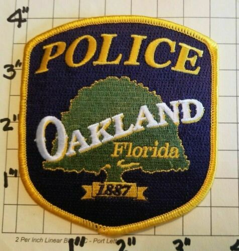 Oakland (FL) Police Department Patch     ***NEW***