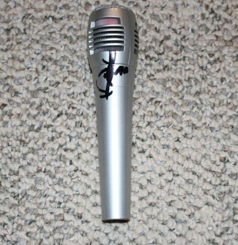 JOURNEY SINGER ARNEL PINEDA SIGNED REPLICA MICROPHONE w/COA NEW BAND LEADER