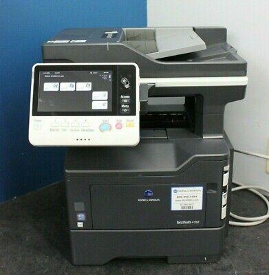 Konica Minolta Bizhub 4052 42-ppm B&W MultiFunction Printer Copy Print Scan -