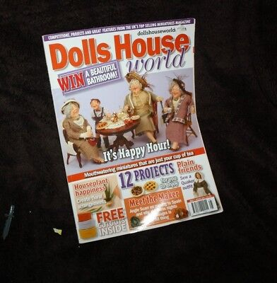 Dolls House World May 2006 miniature projects  for sale  Hampton