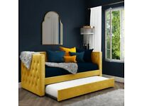 Absolutely brand new daybed in Mustard